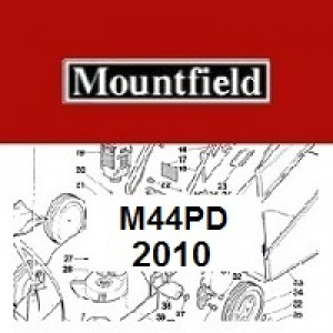 Mountfield M44PD Spares Parts Diagrams M44 PD 2010