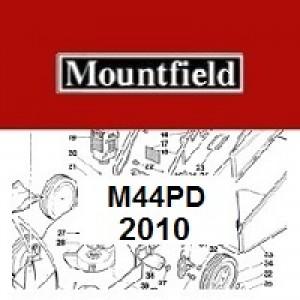 Mountfield M44PD Spares Parts Diagrams M44 PD 2010