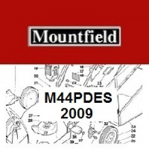 Mountfield M44 PD ES Spares Parts Diagrams M44PDES 2009