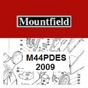 Mountfield M44 PD ES Spares Parts Diagrams M44PDES 2009