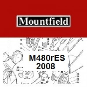 Mountfield M480RES Spares Parts Diagrams M480 R ES 2008