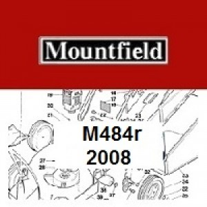 Mountfield M484R Spares Parts Diagrams M484 R 2008