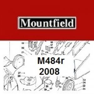 Mountfield M484R Spares Parts Diagrams M484 R 2008