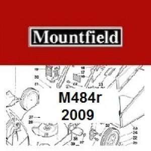 Mountfield M484R Spares Parts Diagrams M484R 2009