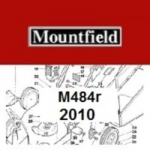 Mountfield M484R Spares Parts Diagrams M484R 2010