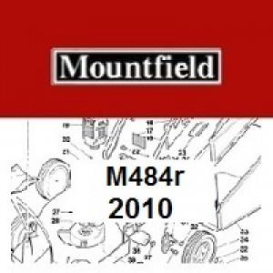 Mountfield M484R Spares Parts Diagrams M484R 2010
