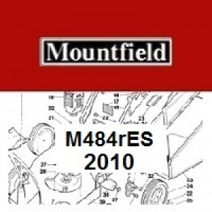 Mountfield M484RES Spares Parts Diagrams M484R ES 2010