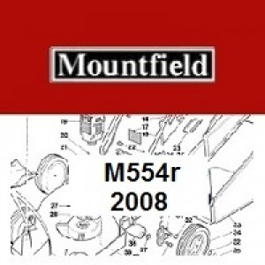 Mountfield M554R Spares Parts Diagrams M554 R 2008
