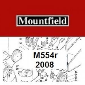 Mountfield M554R Spares Parts Diagrams M554 R 2008