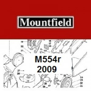Mountfield M554R Spares Parts Diagrams M554R 2009
