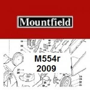 Mountfield M554R Spares Parts Diagrams M554R 2009