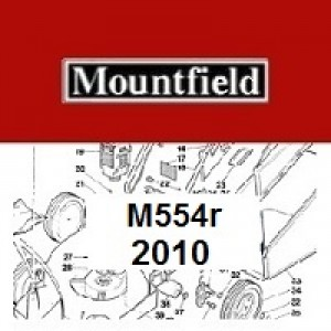 Mountfield M554R Spares Parts Diagrams M554R 2010
