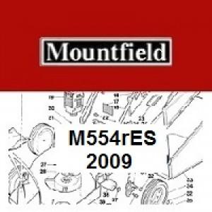 Mountfield M554RES Spares Parts Diagrams M554R ES 2009
