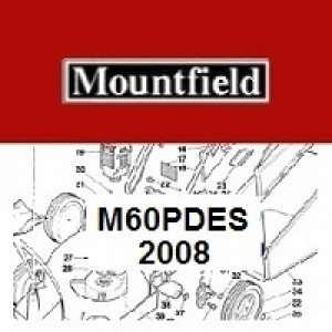 Mountfield M60PDES Spares Parts Diagrams M60 PD ES 2008
