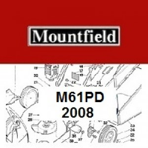 Mountfield M61PD Spares Parts Diagrams M61 PD 2008