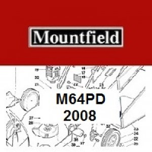 Mountfield M64PD Spares Parts Diagrams M64 PD 2008