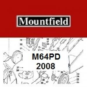 Mountfield M64PD Spares Parts Diagrams M64 PD 2008