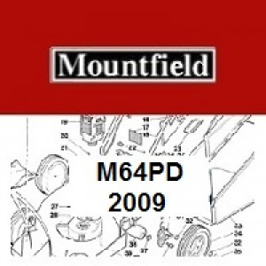 Mountfield M64PD Spares Parts Diagrams M64 PD 2009
