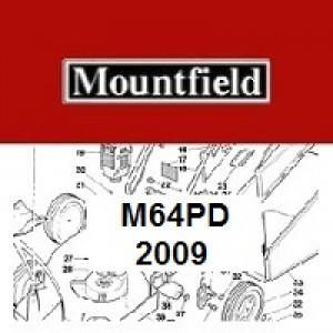 Mountfield M64PD Spares Parts Diagrams M64 PD 2009