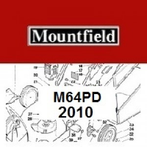 Mountfield M64PD Spares Parts Diagrams M64 PD 2010