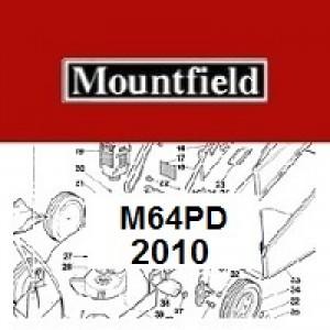 Mountfield M64PD Spares Parts Diagrams M64 PD 2010