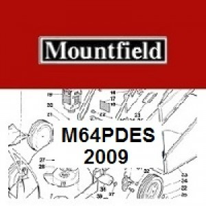 Mountfield M64PDES Spares Parts Diagrams M64PD ES 2009