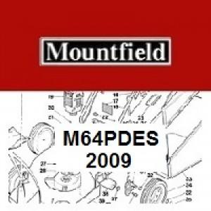 Mountfield M64PDES Spares Parts Diagrams M64PD ES 2009