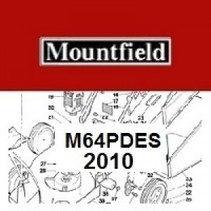 Mountfield M64PDES Spares Parts Diagrams M64 PD ES 2010