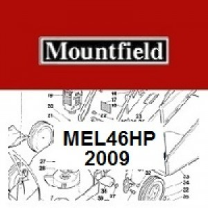 Mountfield MultiClip MEL46HP Spares Parts Diagrams MEL 46 HP 2009