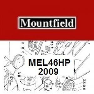 Mountfield MultiClip MEL46HP Spares Parts Diagrams MEL 46 HP 2009
