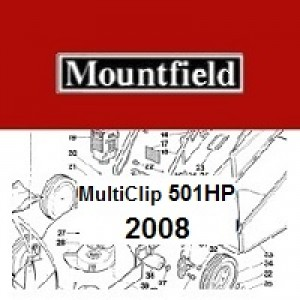 Mountfield MULTICLIP 501HP Spares Parts Diagrams MULTICLIP 501 HP 2008
