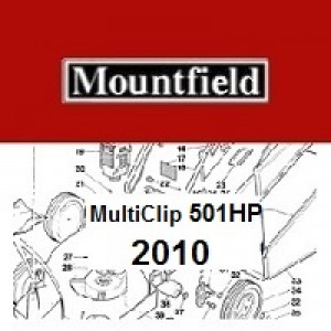 Mountfield MultiClip 501HP Spares Parts Diagrams MultiClip 501 HP 2010
