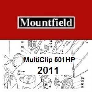Mountfield Multiclip 501HP Spares Parts Diagrams  Multiclip 501 HP 2011