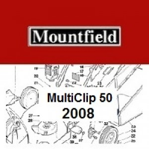 Mountfield MULTICLIP 50 Spares Parts Diagrams MULTICLIP 50 2008
