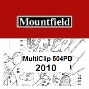 Mountfield MultiClip INOX 504PD 4S Spares Parts Diagrams MultiClip INOX504PD4S 2010