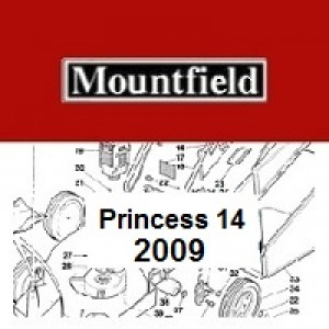 Mountfield Princess 14 Spares Parts Diagrams Princess 14 2009