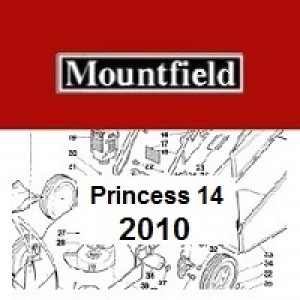 Mountfield Princess 14 Spares Parts Diagrams Princess 14 2010