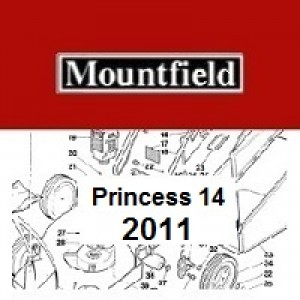 Mountfield Princess 14 Spares Parts Diagrams Princess 14 2011