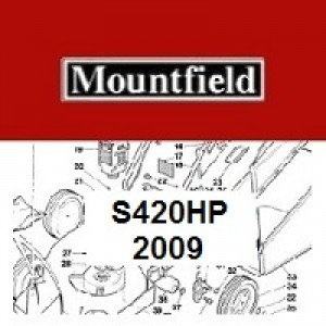 Mountfield S420HP Spares Parts Diagrams S420 HP 2009