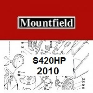 Mountfield S420HP Spares Parts Diagrams S420 HP 2010
