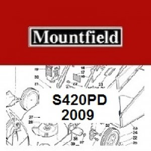 Mountfield S420PD Spares Parts Diagrams S420PD 2009