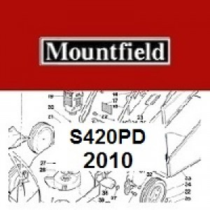 Mountfield S420PD Spares Parts Diagrams S420 PD 2010