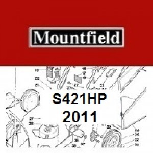 Mountfield S421HP Spares Parts Diagrams S421 HP 2011