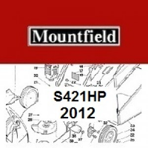 Mountfield S421HP Spares Parts Diagrams S421HP 2012