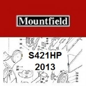 Mountfield S421HP Spares Parts Diagrams S421 HP 2013