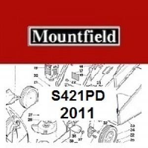 Mountfield S421PD Spares Parts Diagrams S421 PD 2011
