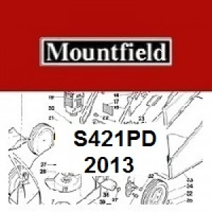 Mountfield S421PD Spares Parts Diagrams S421 PD 2013