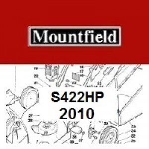 Mountfield S422HP Spares Parts Diagrams S422 HP 2010