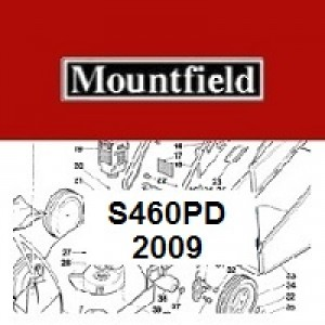 Mountfield S460PD Spares Parts Diagrams S460PD 2009