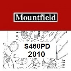 Mountfield S460PD Spares Parts Diagrams S460 PD 2010